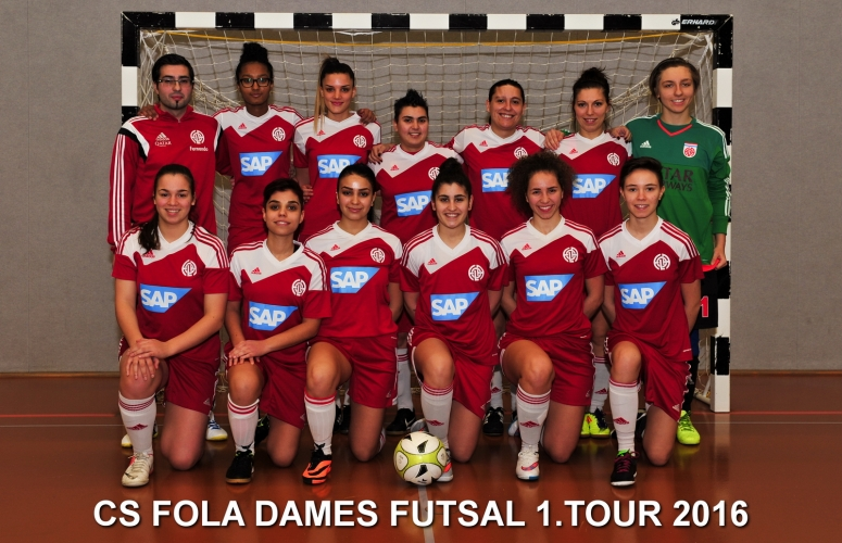 CS FOLA DAMES FUTSAL 1.TOUR 2016