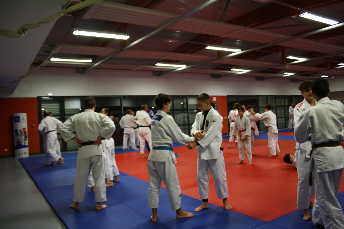 Pictures Interreg Judo Training - St Julien-lès-Metz 09.01.2020