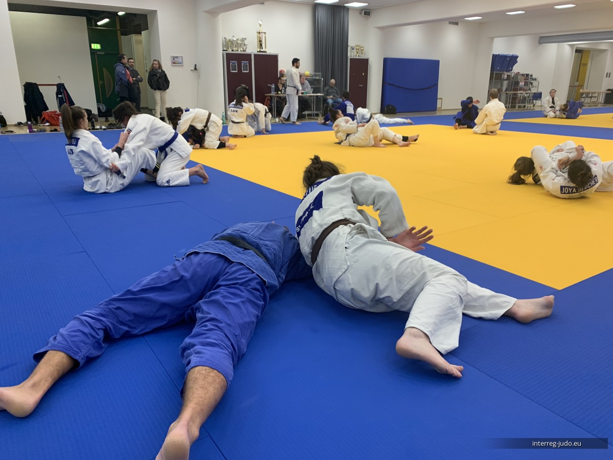 Pictures Interreg Judo Training - Luxembourg 20.01.2020