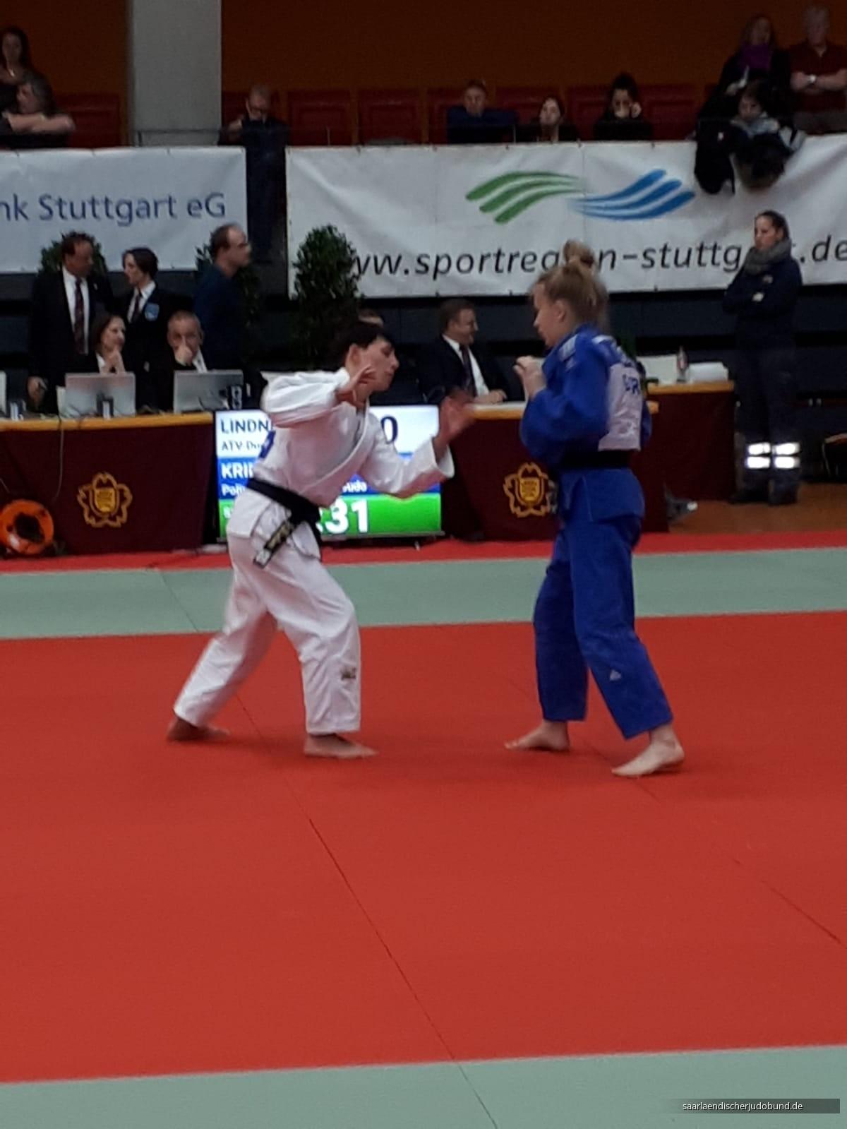 Deutsche Meisterschaft: Jessica Linder wird Zweite