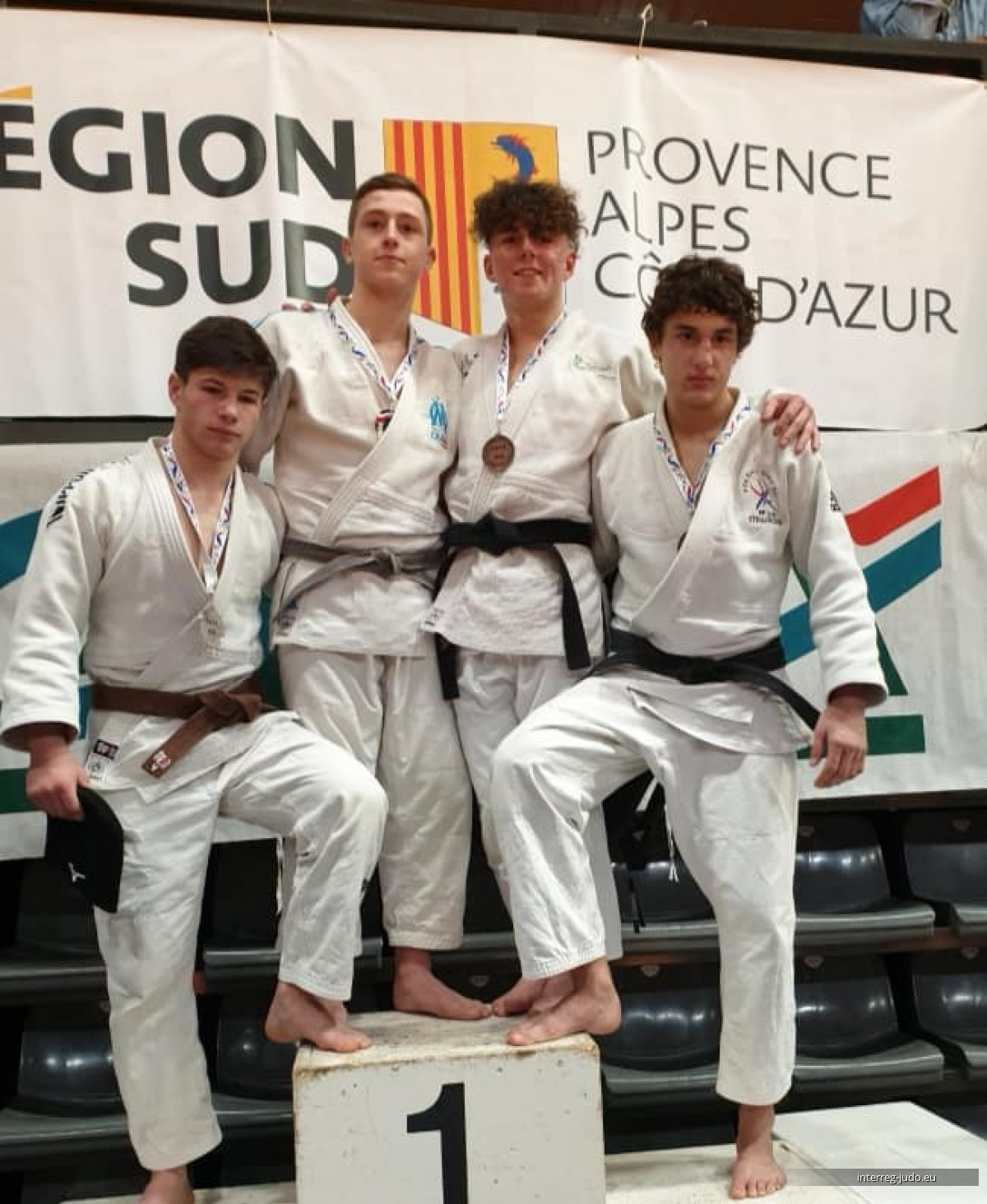 Pictures Interreg Judo Team - Tournoi de France Cannes 18.01.2020