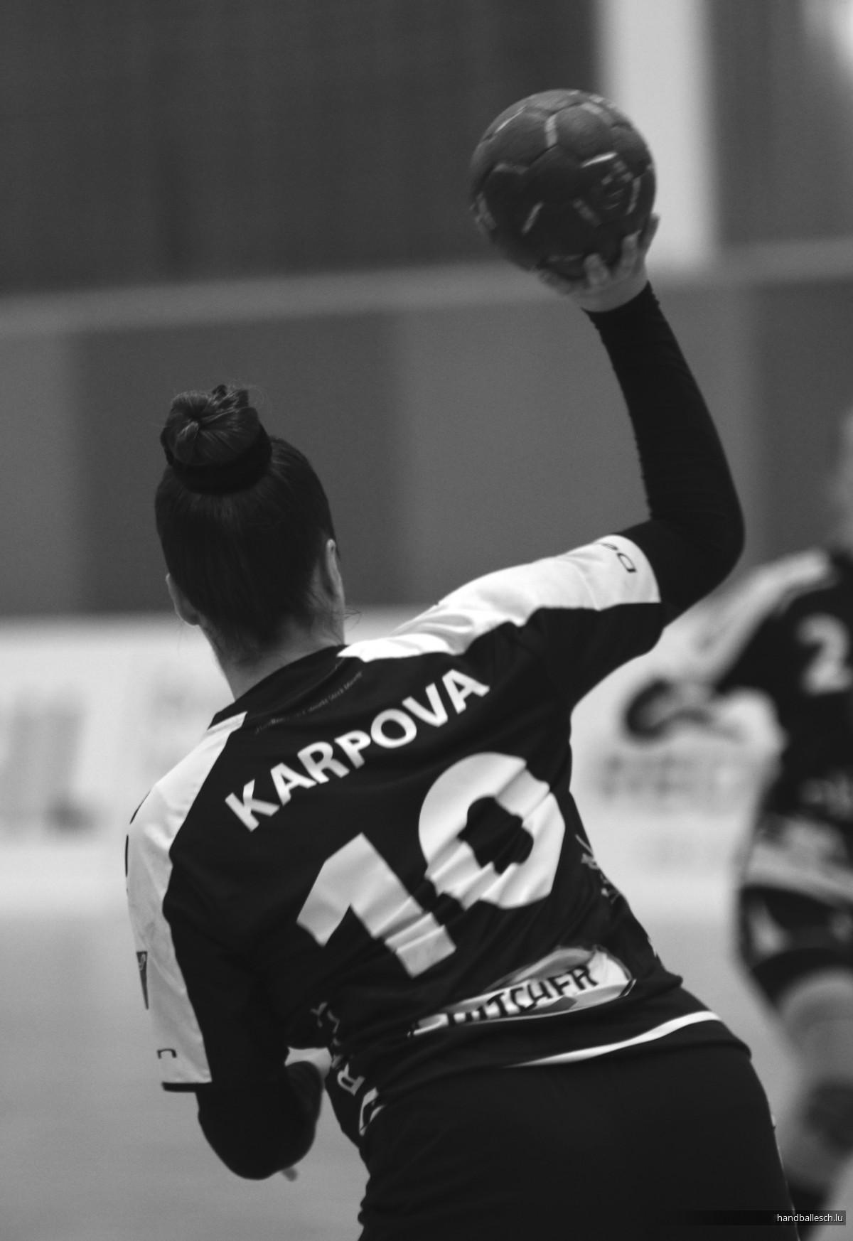 Fotoen/01.02.2020/Dammen: Handball Esch 17 - 30 Hb Museldall