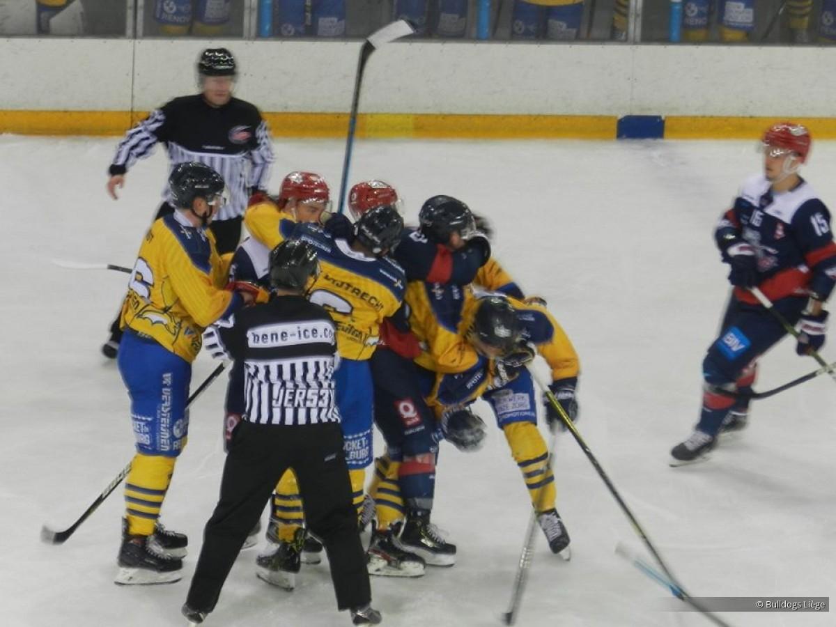 Photos match Elite contre Tilburg le 8 février 2020