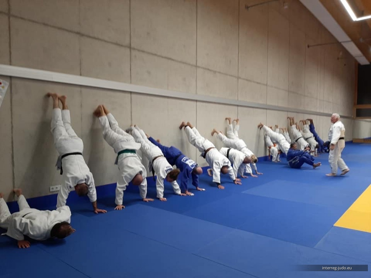 Pictures Interreg Judo Veterans Training - 07.02.2020 Strassen