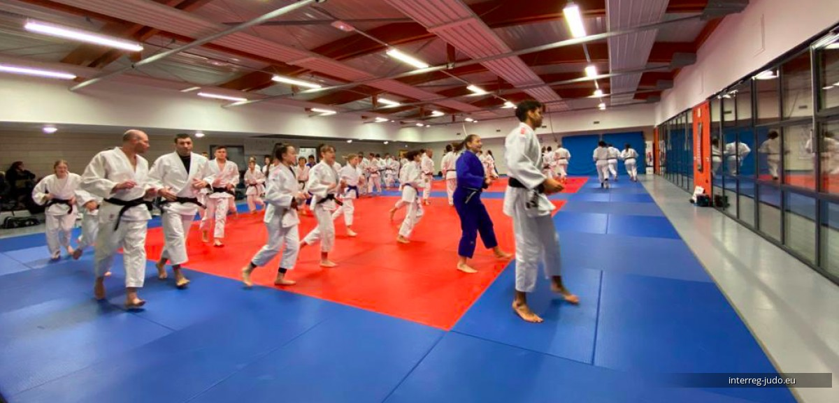 Pictures Interreg Judo Training - Saint Julien-lès-Metz 06.02.2020