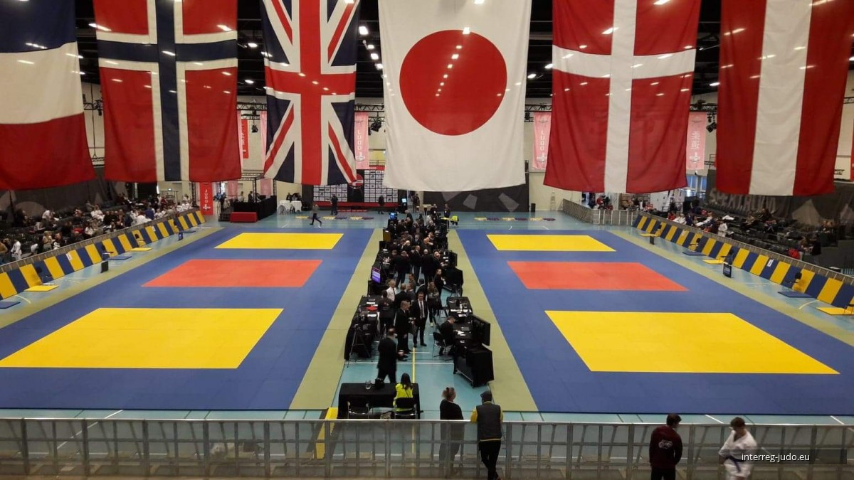 Pictures Interreg Judo Team - Danish Open Vejle 08-09.02.2020