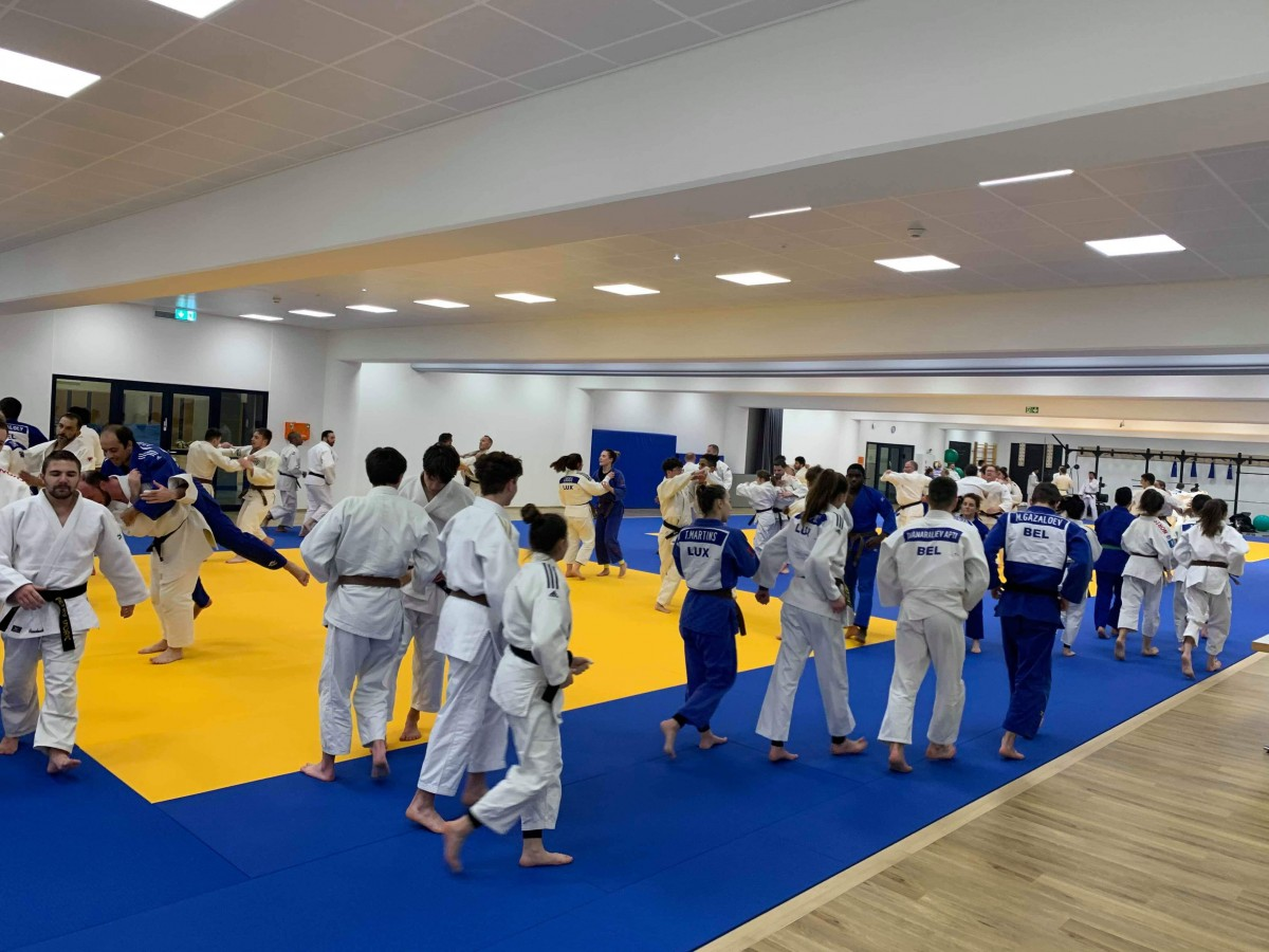 Pictures Interreg Judo Training - Luxembourg 19.02.2020