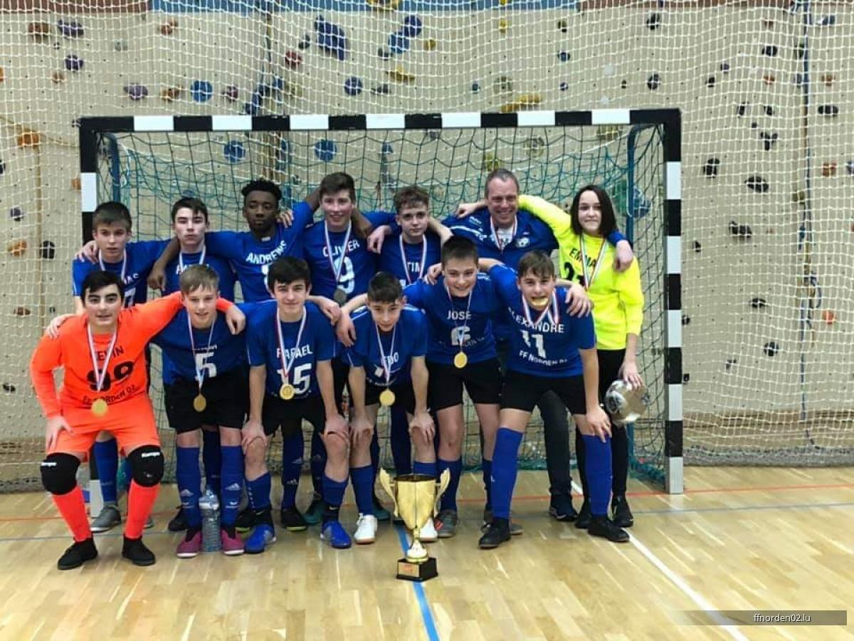 Gewenner Lalux Futsal Cup bei den Scolaires