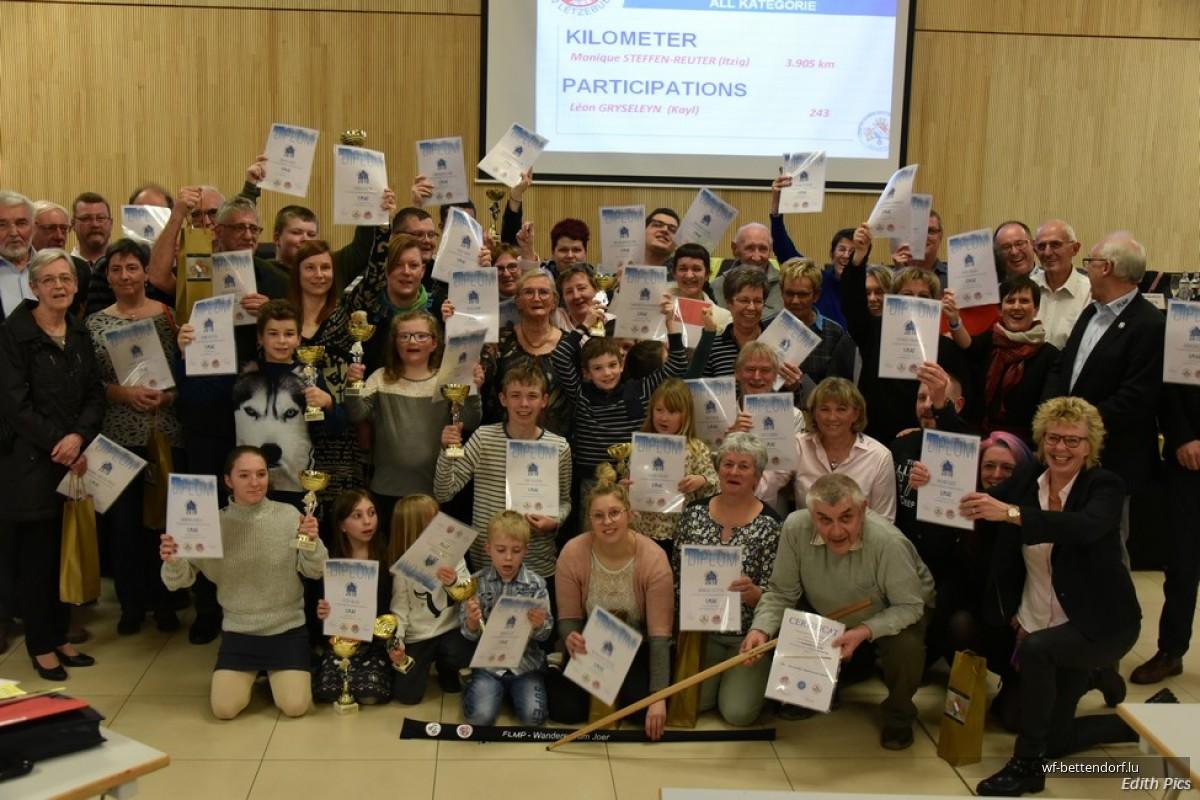 2020_02_29 Lëntgen Generalversammlung FLMP / Wanderer des Jahres 2019