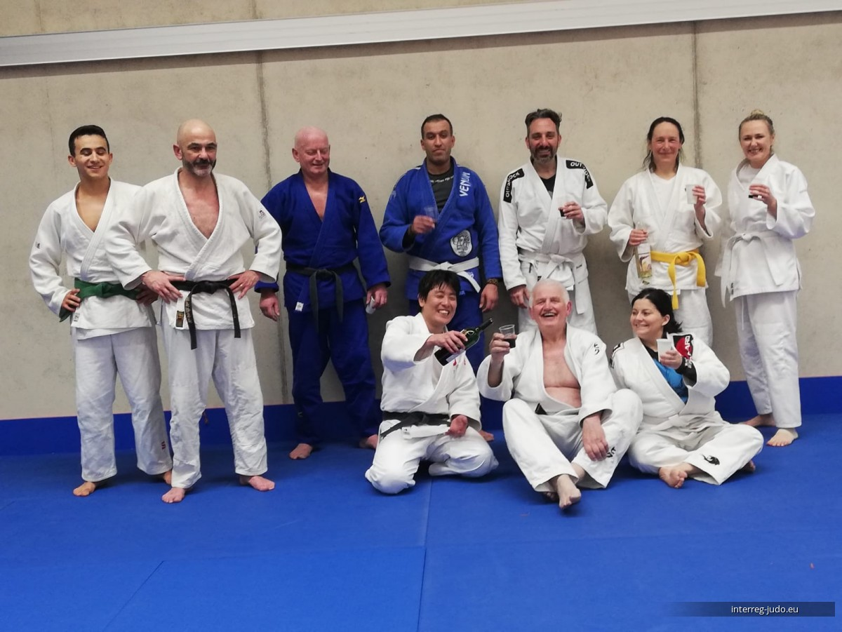 Pictures Interreg Judo Training - Veterans 06.03.2020 Strassen