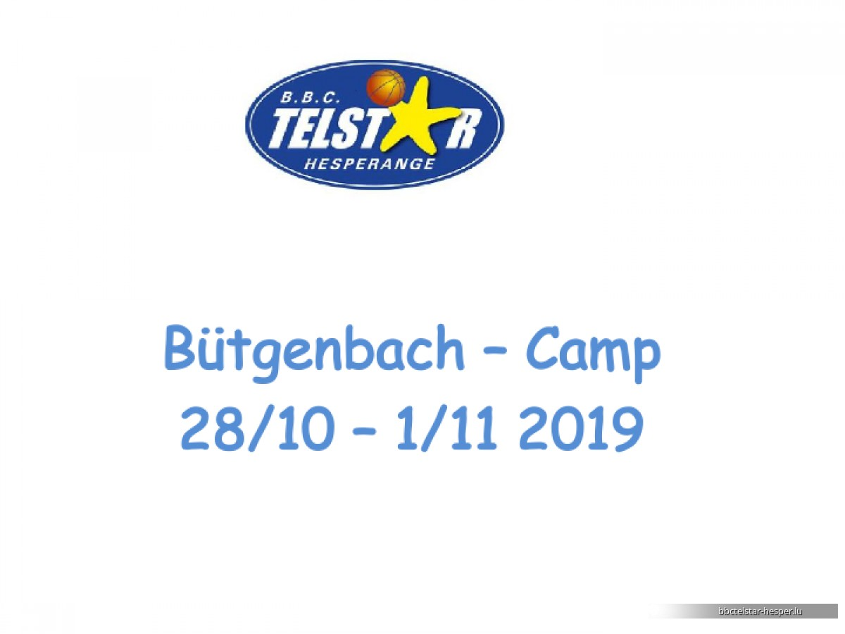 Bütgenbach Camp 2019