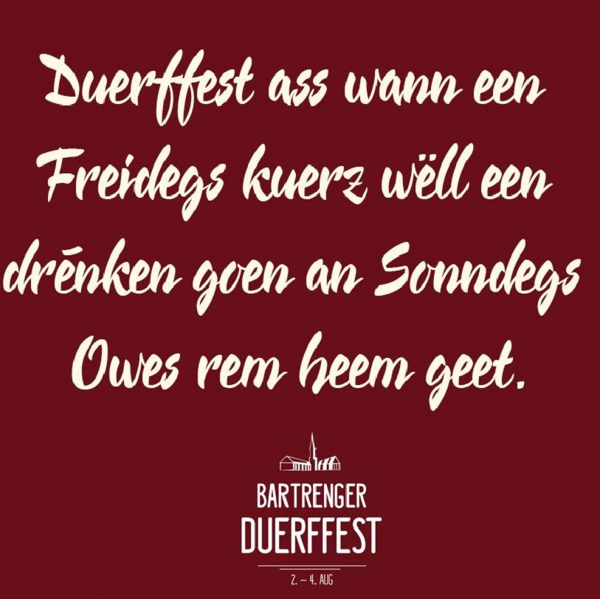 Duerffest Bartreng