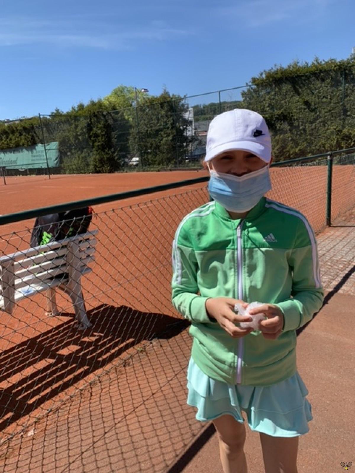 2020 Mask challenge - Tennis Pétange