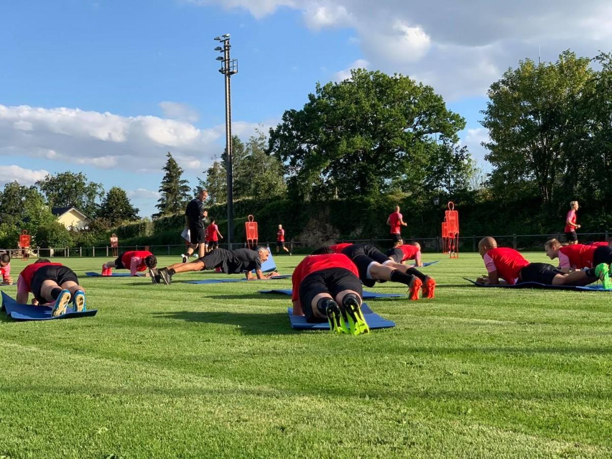 1. Training Saison 2020/2021