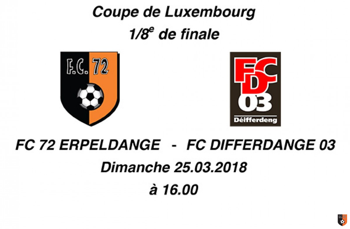 Match de Coupe FC 72-Differdange 03