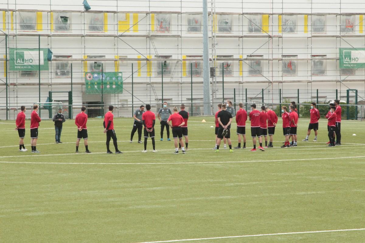 1. Training FC UNA Strassen Saison 2020/2021