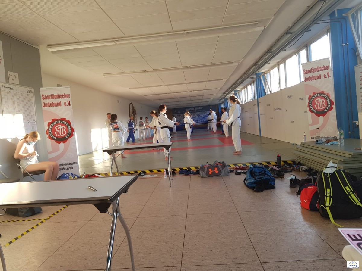 Pictures - Interreg Judo Training Saarbrücken - 22.07.2020
