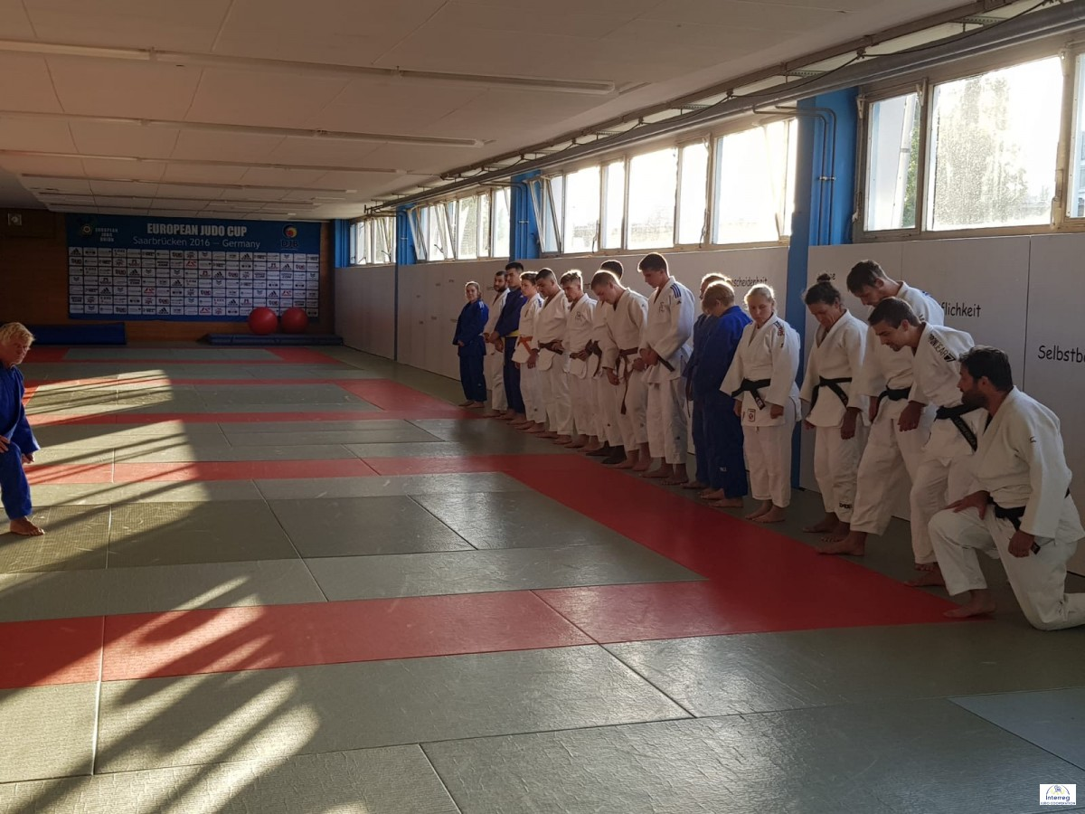 Pictures - Interreg Judo Training - Saarbrücken 12.08.2020