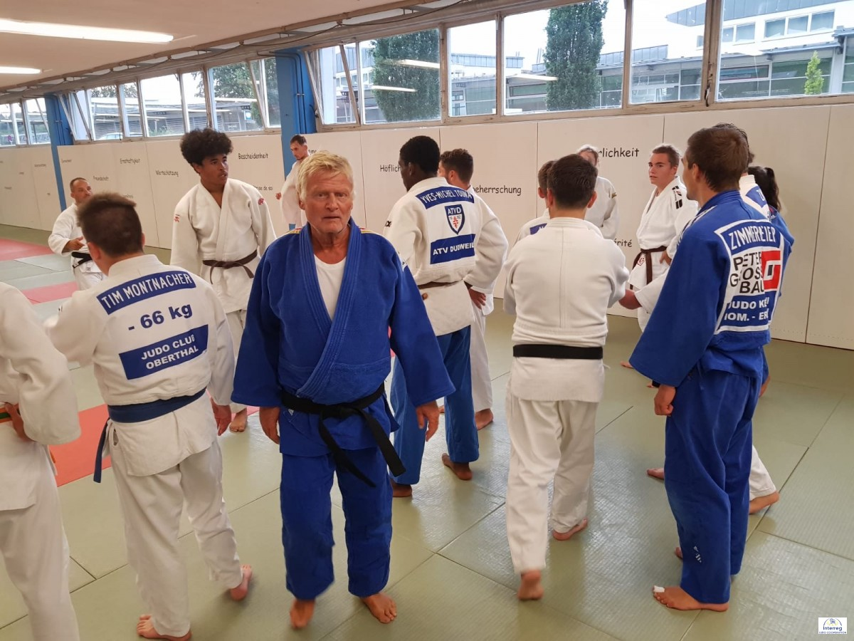Pictures - Interreg Judo Training - Saarbrücken 19.06.2020