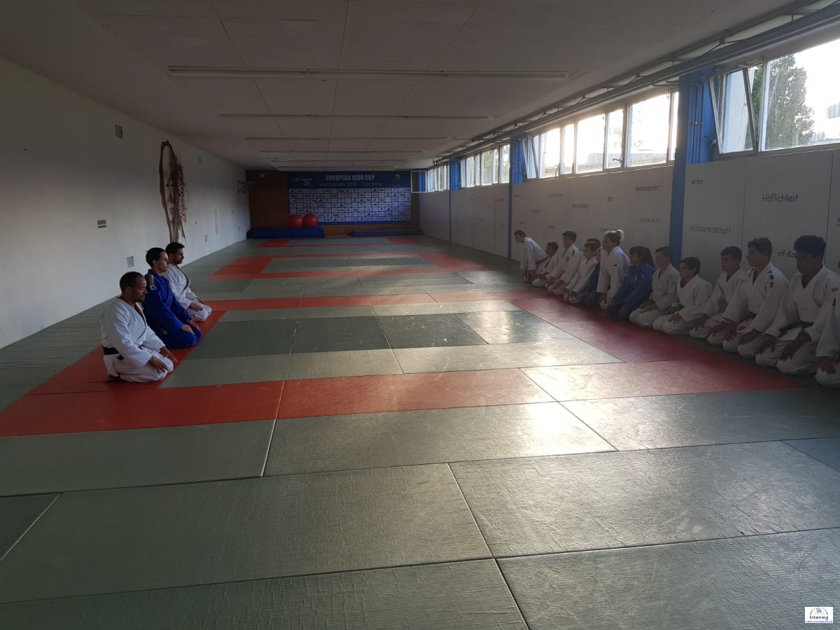 Pictures - Interreg Judo Training - Saarbrücken 26.09.2020