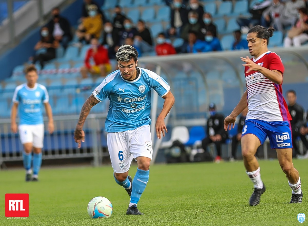 Racing FC vs Fola Esch - BGL Ligue - J2