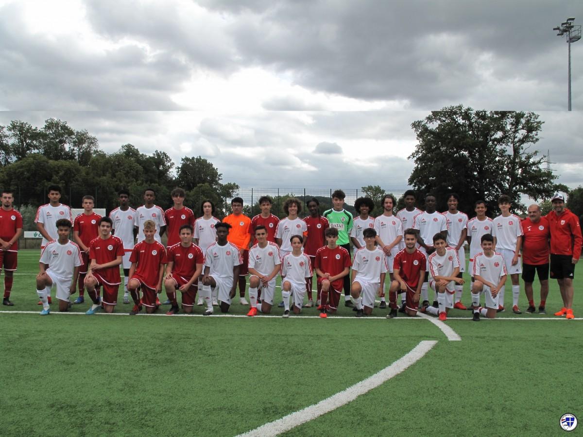 Match amicale Cadets Entente Sanem-Monnerech contre Cadet  Fola