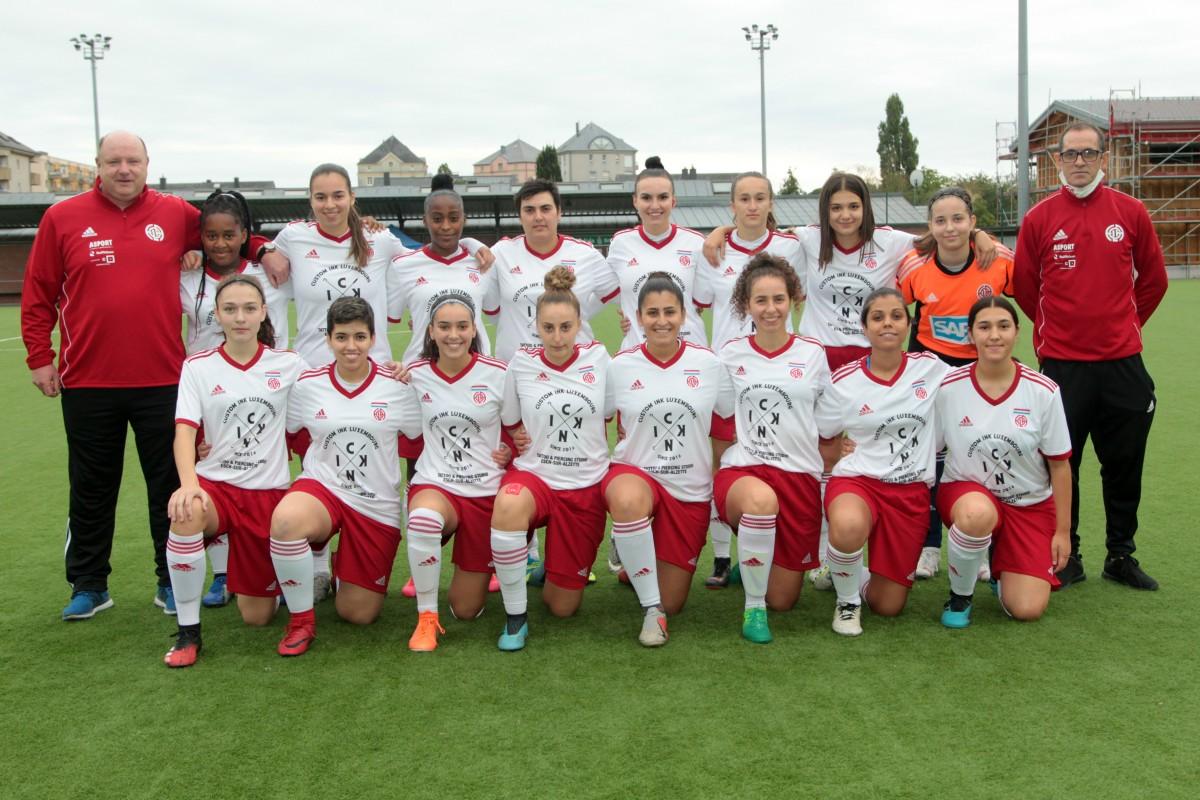 Coupe des Dames : CS Fola- FC Jeunesse Junglinster (1-5)