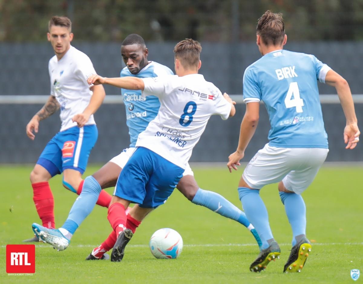 Retour en images : Racing FC vs FC Etzella