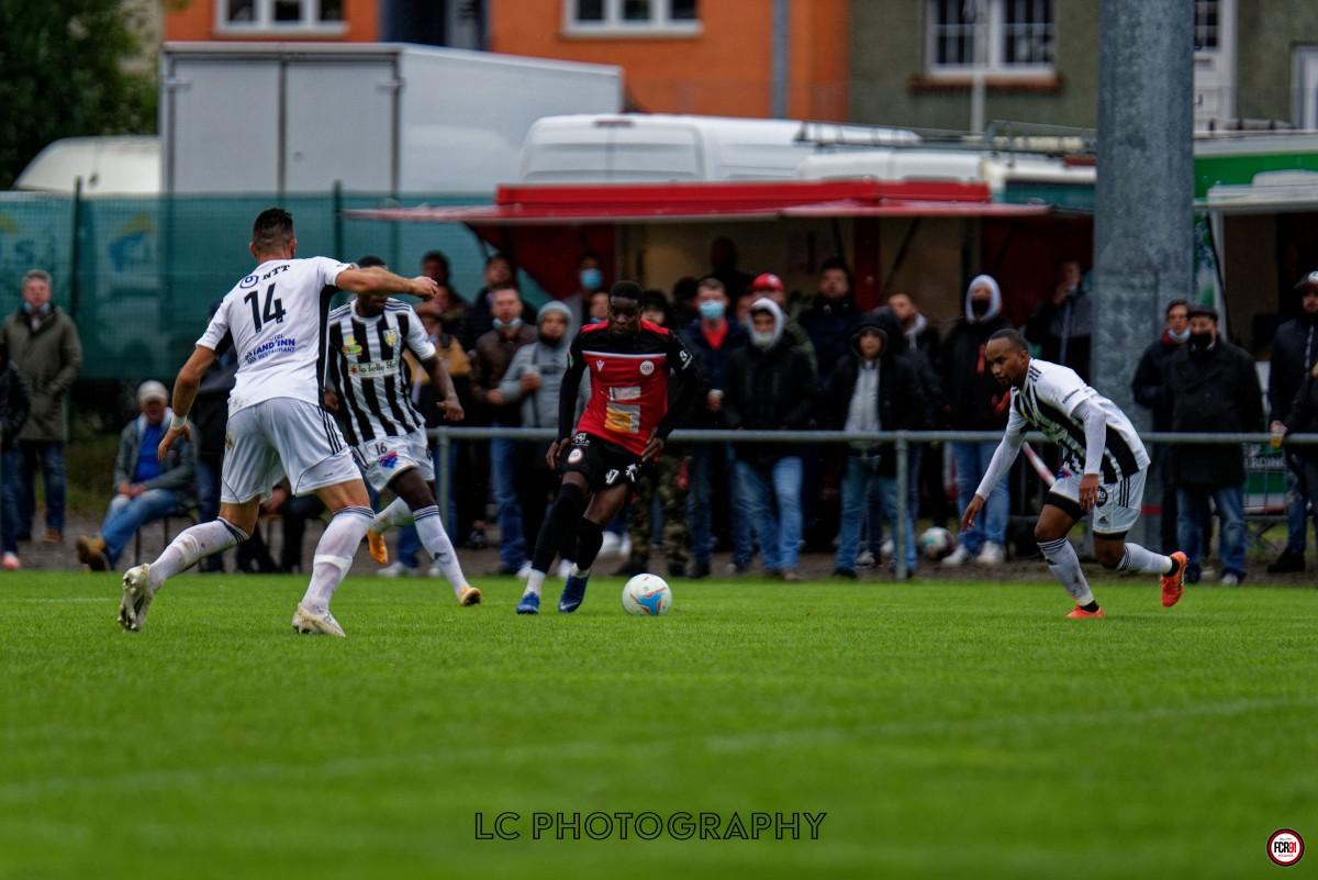 Kilian Amehi en action.