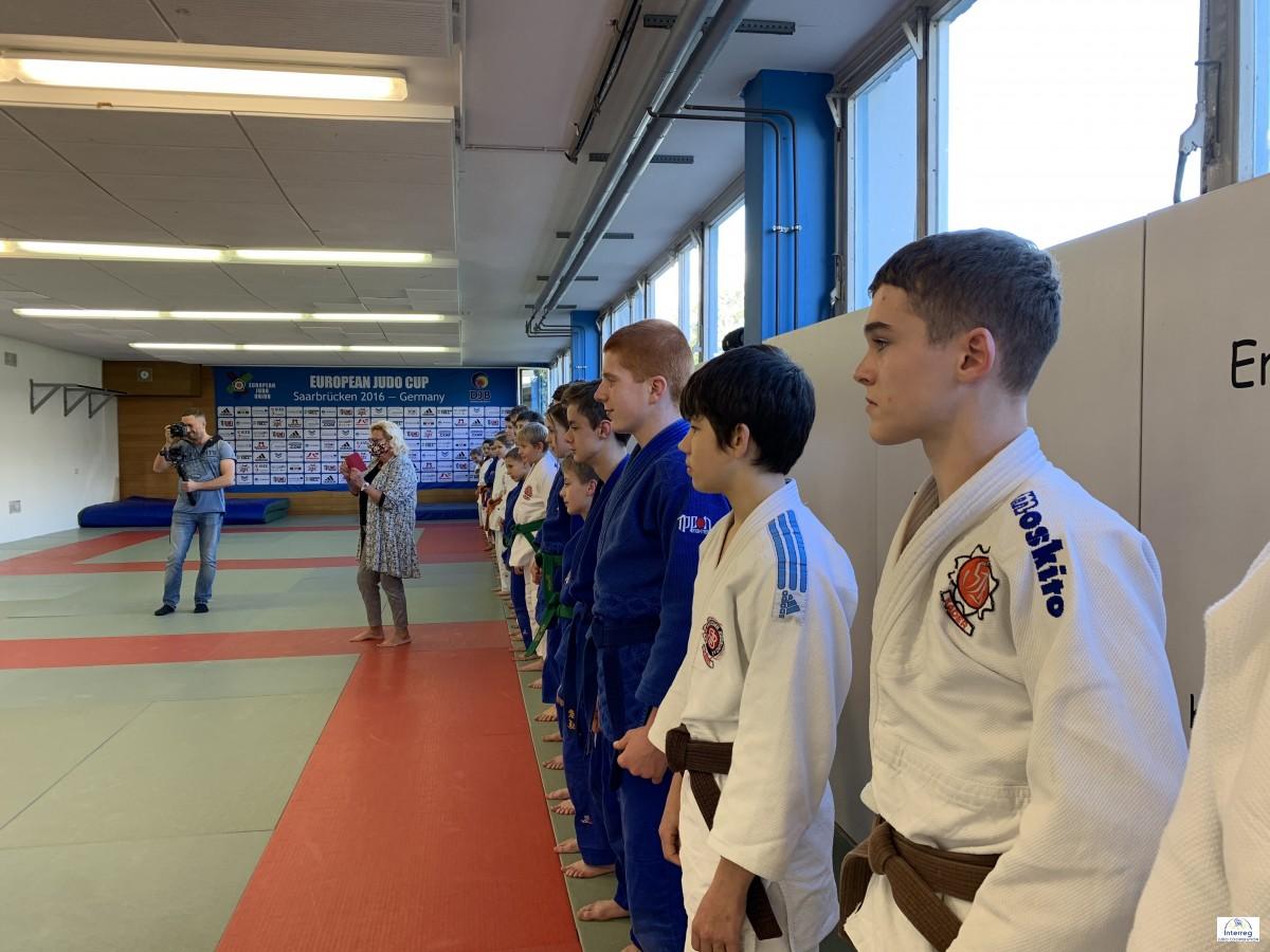 Pictures - Interreg Judo Training - U15/U18 Wochenendlehrgang Saarbrücken - 09-11.10.2020