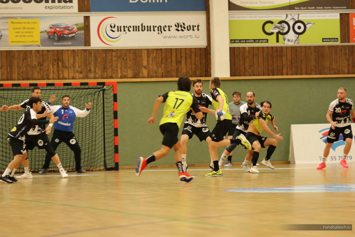 03.10.2020 H1 : Handball Esch 33 - 20 HBC Schëffleng