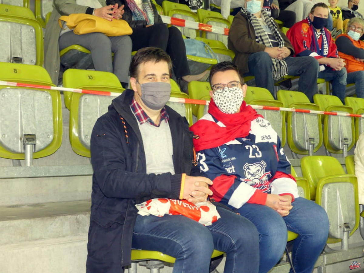 Photos supporters Bulldogs de Liège vs Herentals 10/10/2020