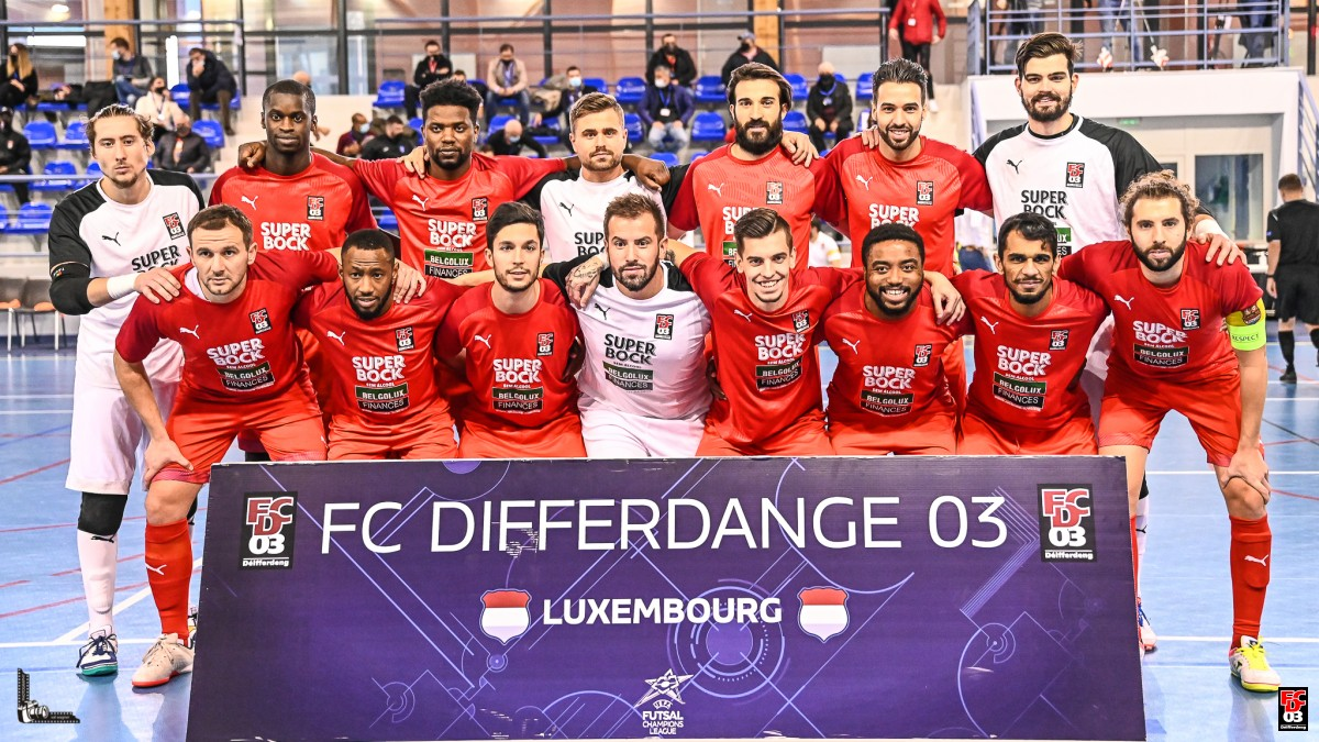 FCD03 FUTSAL - London Helvecia 6 - 0
