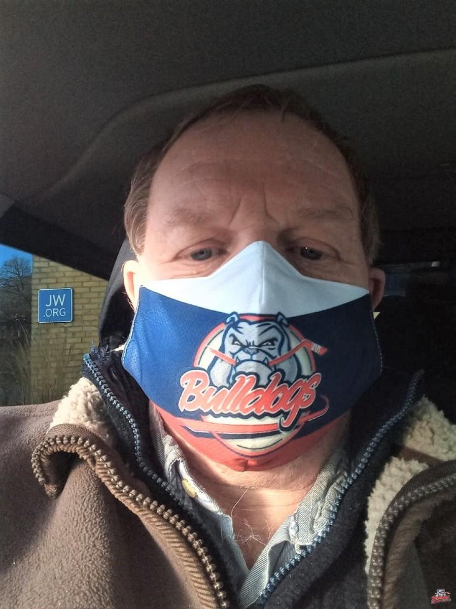Masque Bulldogs de Liège
