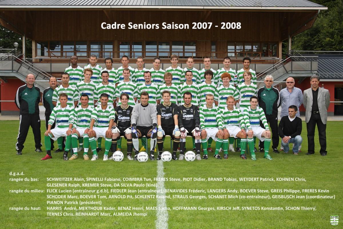 USH Saison 2007/08 (D1 / 2. / Barrage)
