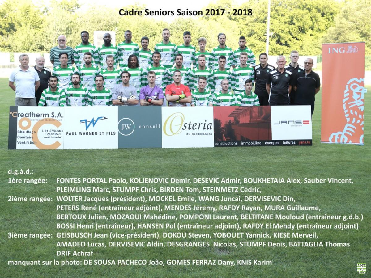 USH Saison 2017/18 (BGL-Ligue / 8. )