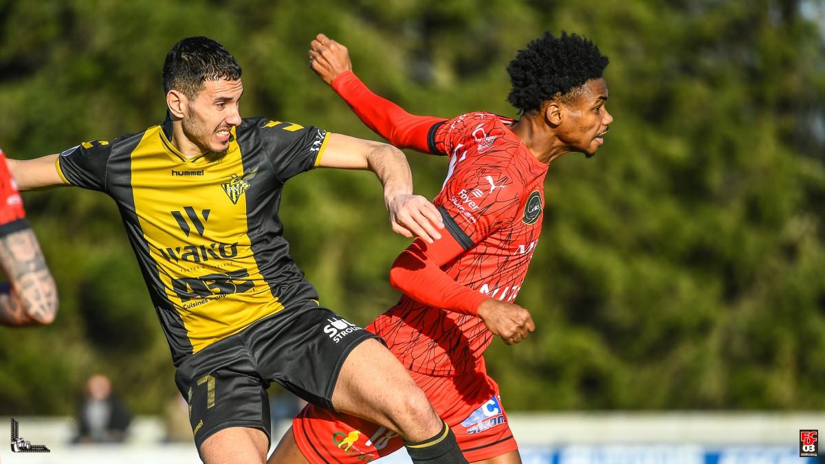 DERBY: Progrès Nidderkuer - FC Déifferdeng 1:1