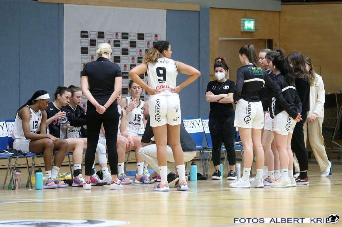 Ladies : T71 Dudelange - AB Contern  77 - 41