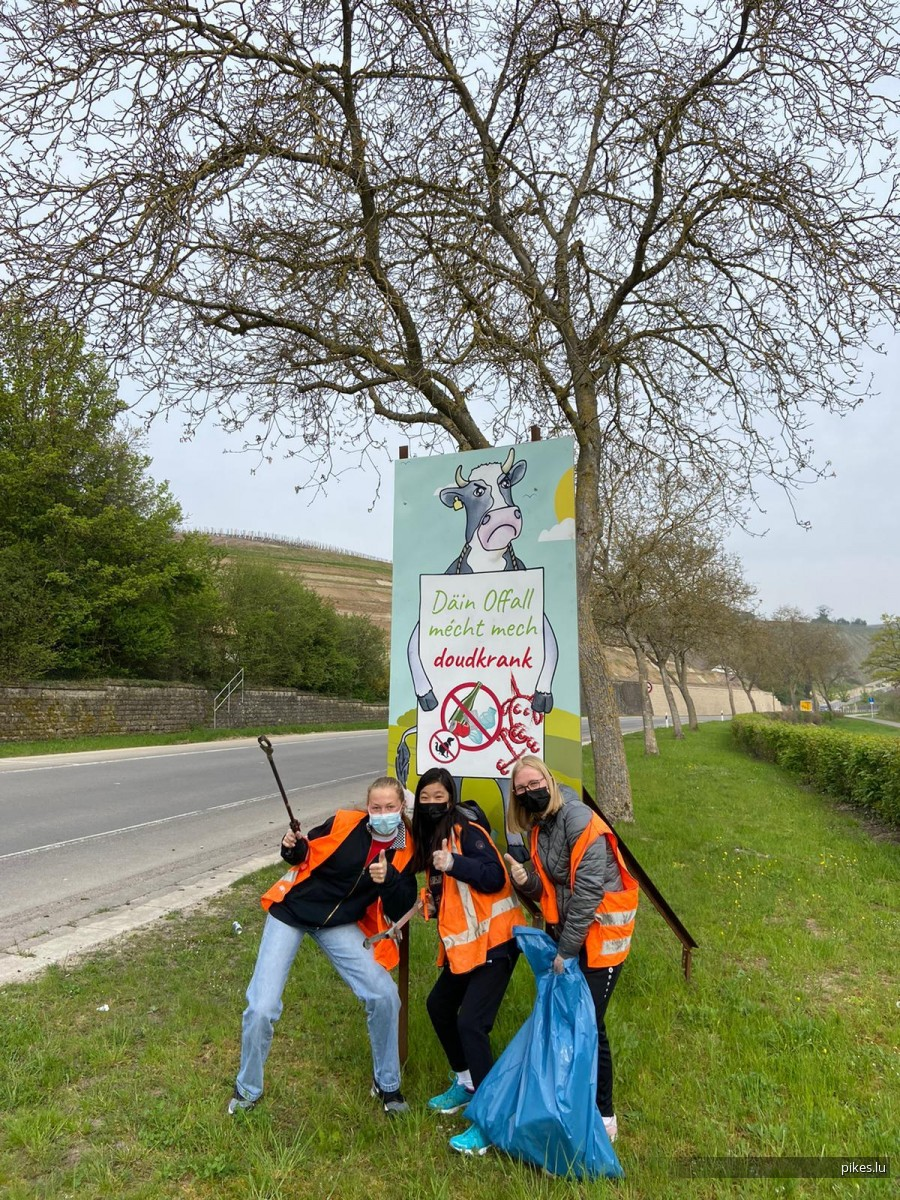 cleaning campaign in our communes: part 2 Stadtbredimus