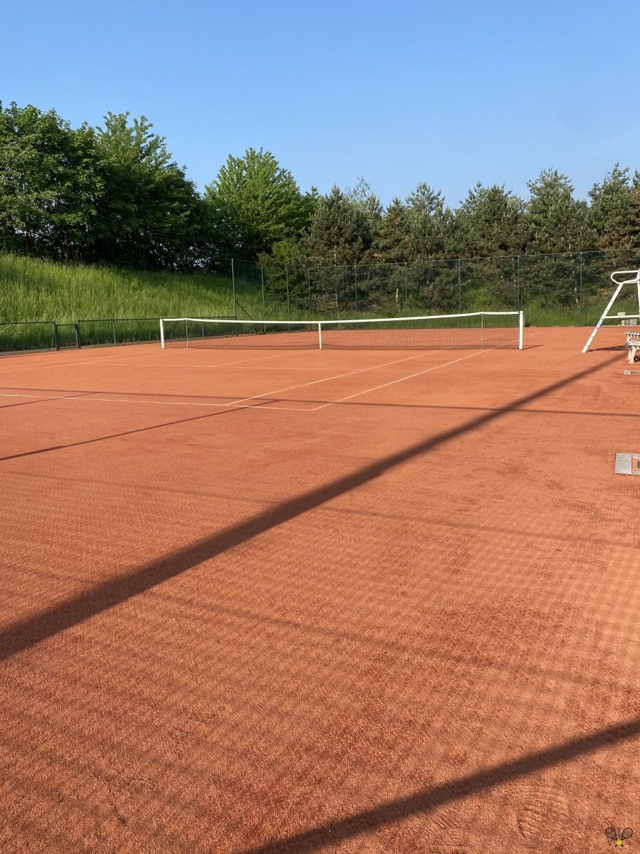 Nouveaux terrains de tennis