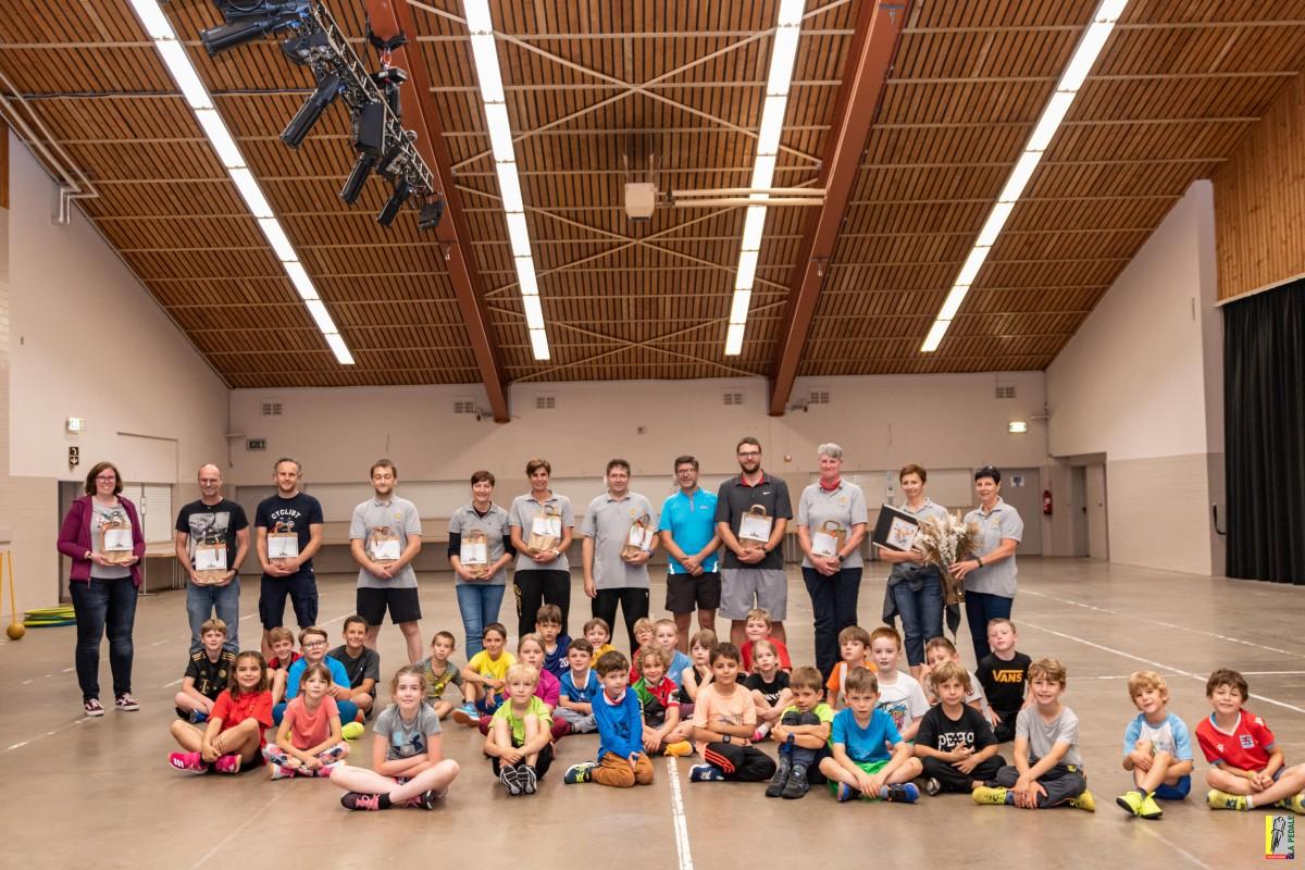 Leschten Training an der Vëlosschoul