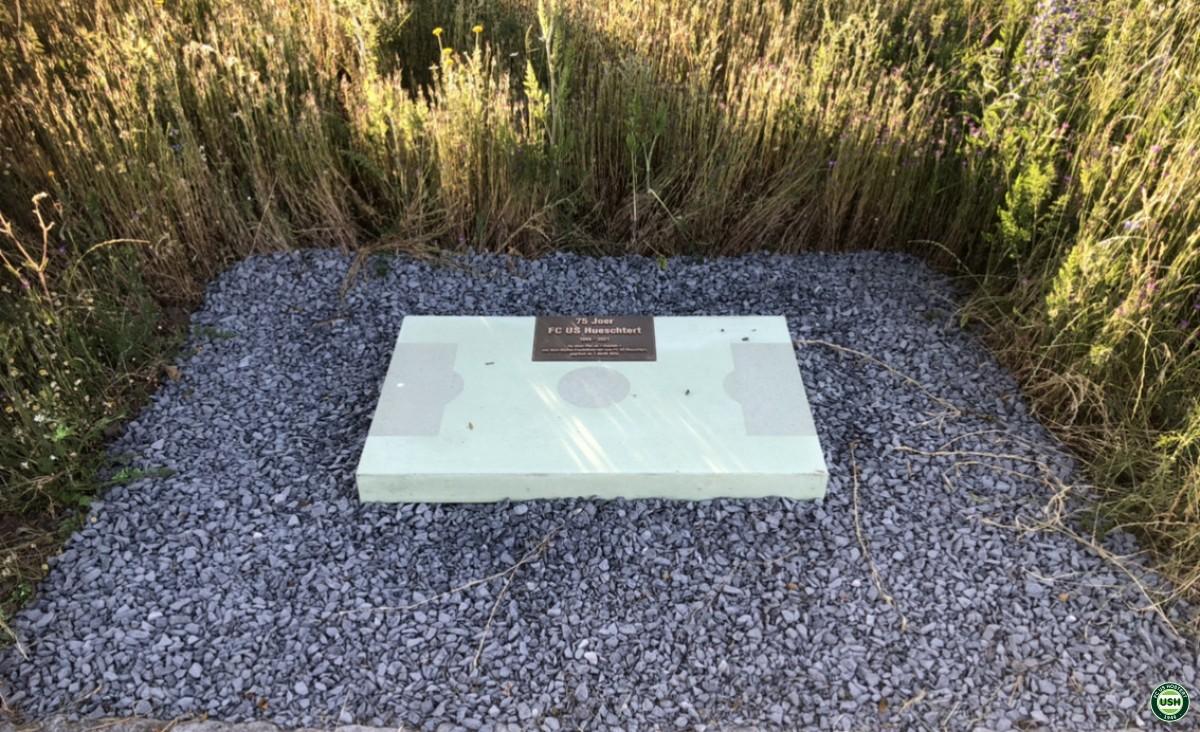 8.7.2021 Cérémonie plaque commémorative 1er terrain de l'USH am