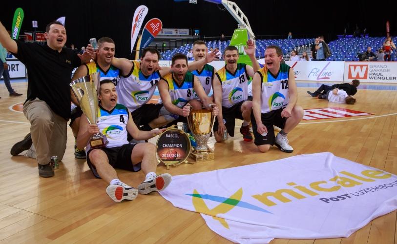 BASCOL CUP WINNER 2016  (with Musel Pikes members  #13 Steffen Romain- #12 Gloden Tom-Schwartz Aender)