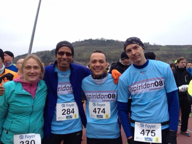 Semi marathon de Diekirch le 20/03/2016