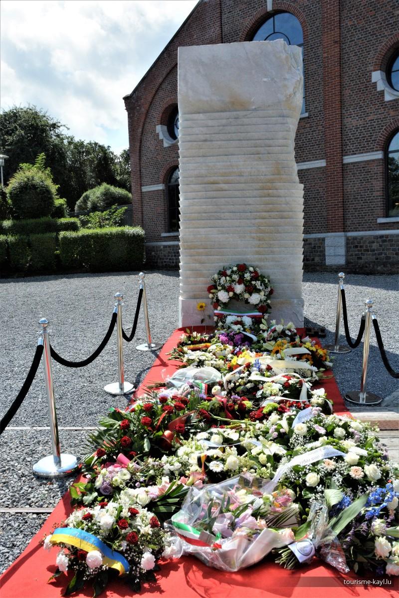 08/08/2021 Gedenkdag zu Marcinelle