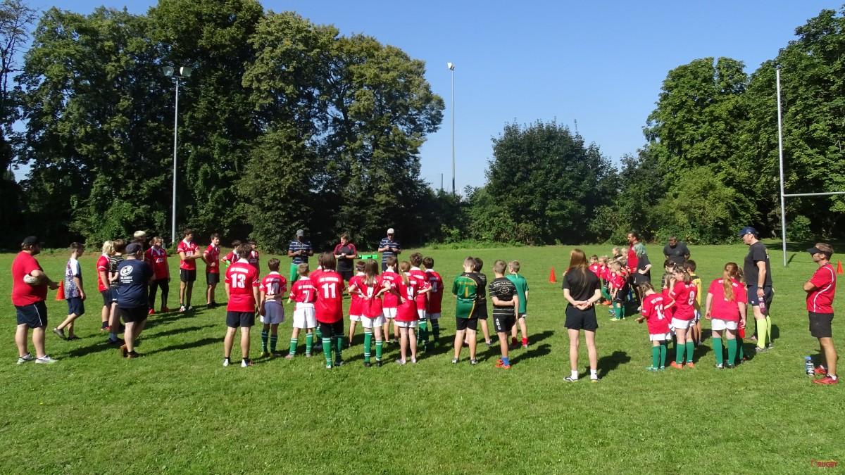 Training der Rugby Jugend RLP 04.09.21