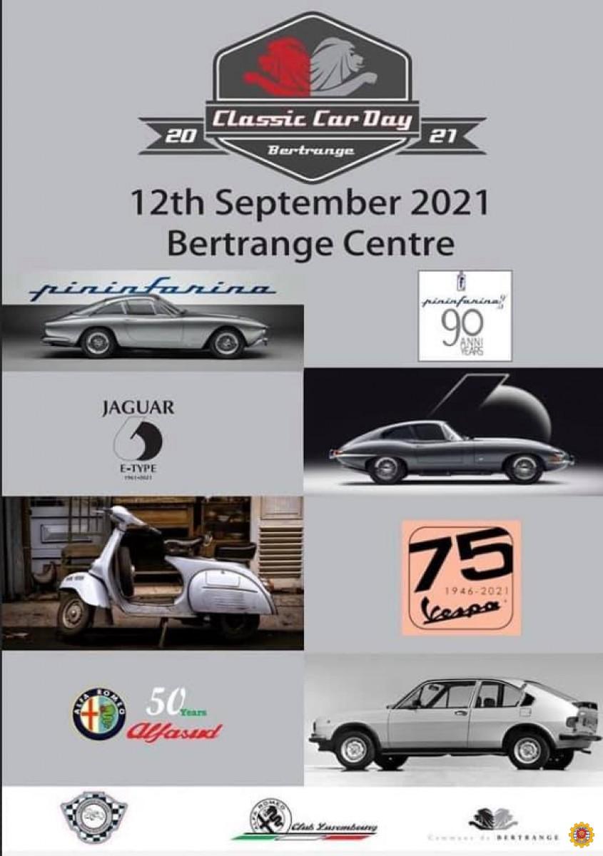 2021 Classic Car Day Bertrange