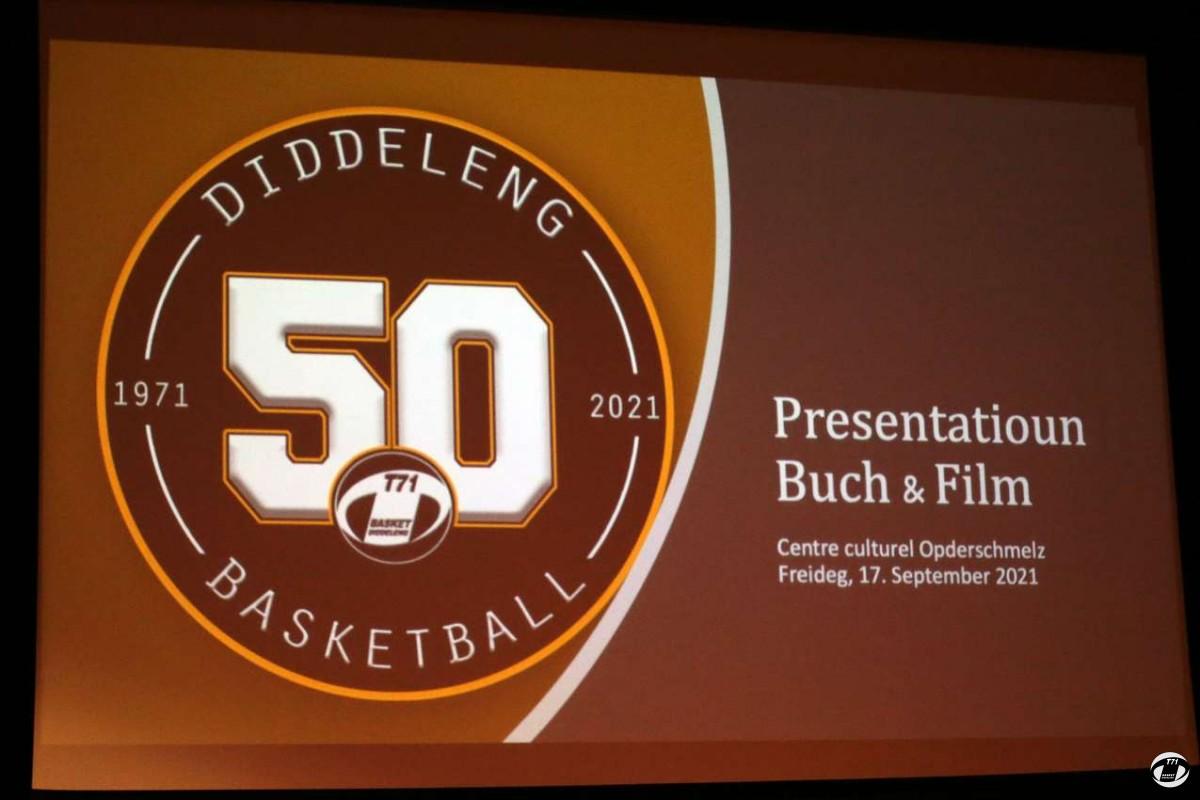 50 JOER T71 DIDDELENG  PRESENTATION  BUCH & FILM