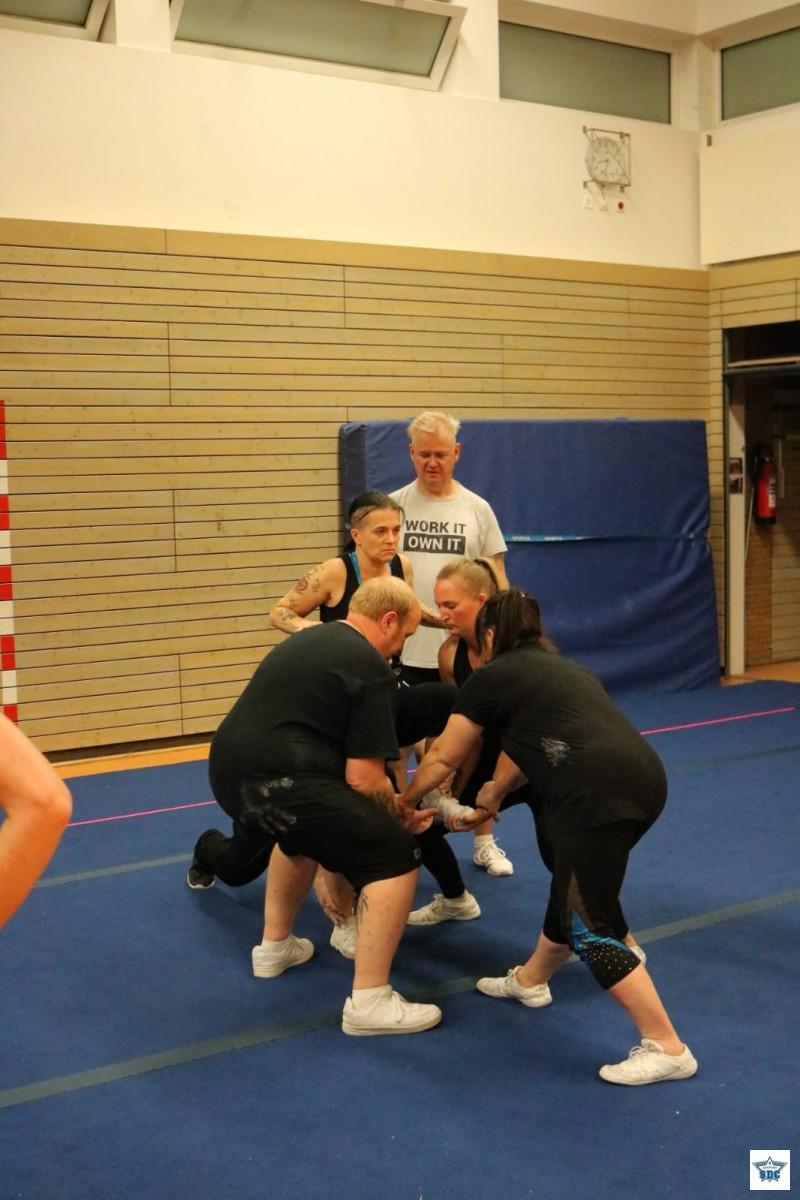 Spass beim Training