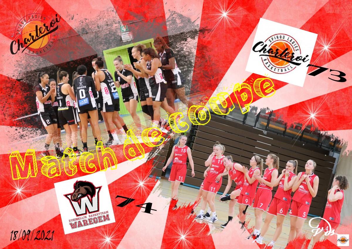 18/09/21 - 1/8èmes de Finale de la Coupe de Belgique - SLC X Waregem